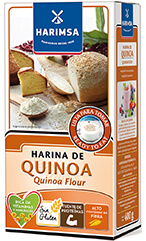 Packet of quinoa fluor
