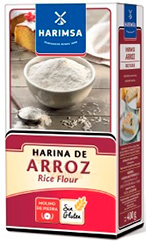 Packet of rice flour